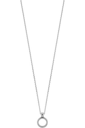 SNÖ of Sweden Lennox Ring Pendant Neck Accessories Jewellery Necklaces Dainty Necklaces Sølv