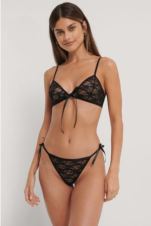 NA-KD Kvinder Briefs - Thin Strap Side Bow Thong