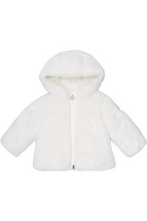 Moncler Baby faux-fur down jacket