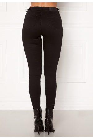 Noisy May Kvinder Skinny - Jen NW S.S Shaper Jeans Black 25/32