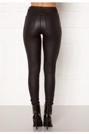 Object Belle MW Coated Pants Black S