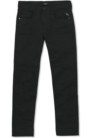 Replay Mænd Jeans - Anbass Hyperflex Reused Jeans Black