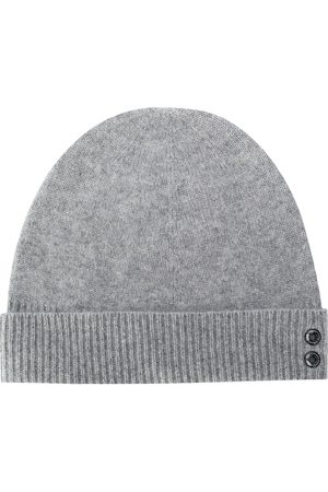 RON DORFF Ribbed knit beanie hat