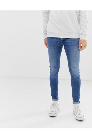 Jack & Jones Intelligense Tom - spray on-jeans i skinny fit