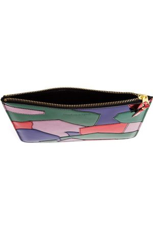 Comme des Garçons Kvinder Clutches - Patchwork patent leather pouch