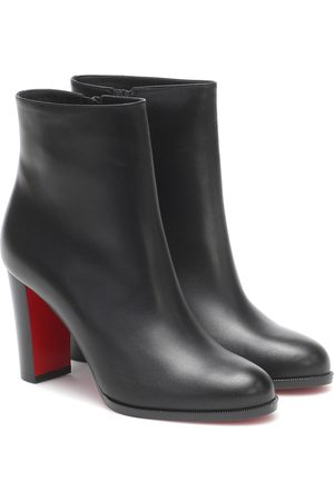 Christian Louboutin Adox 85 leather ankle boots