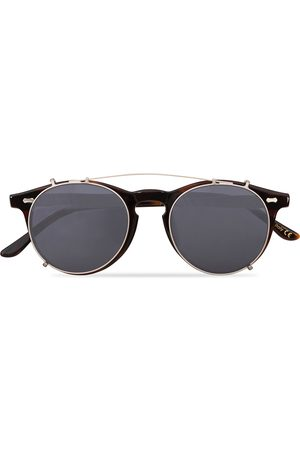 TBD Eyewear Mænd Solbriller - Pleat Clip On Sunglasses Classic Tortoise