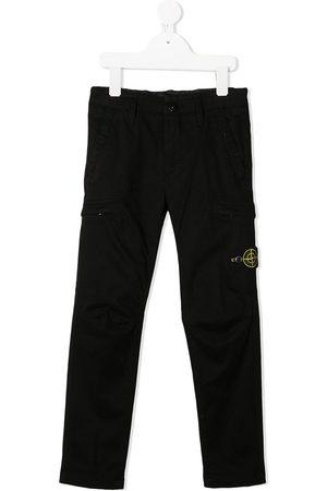 Stone Island Cargo-bukser med logo