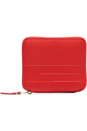 Comme des Garçons Red Intersection zip-around wallet