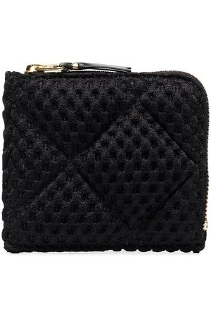 Comme des Garçons Black Fat Tortoise half-zip wallet