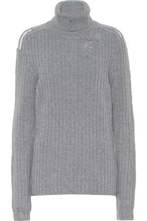 Maison Margiela Kvinder Strik - Turtleneck wool sweater