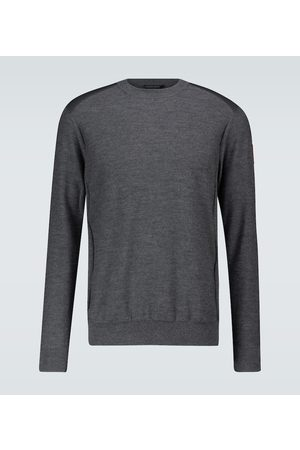 Canada Goose Mænd Strik - Merino wool crewneck sweater
