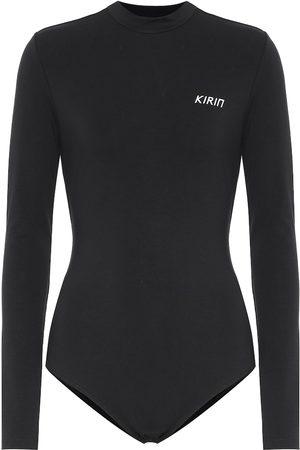 Kirin Kvinder Bodies - Logo stretch-cotton bodysuit