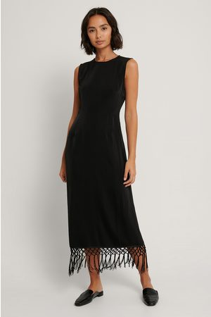 NA-KD Fringe Detail Dress
