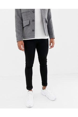 Jack & Jones Intelligence - Liam - Sorte jeans i skinny fit