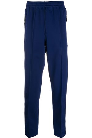 Moncler Tapered piped-trim track pants