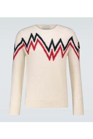 Moncler Norwegian knitted sweater