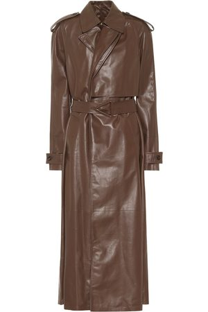 Bottega Veneta Leather trench coat