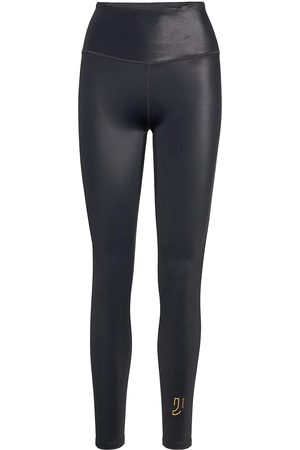 Johaug Shimmer Tights Running/training Tights Sort