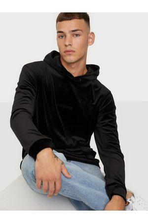 Ciszere Sami velour hoodie - With logo Trøjer Black