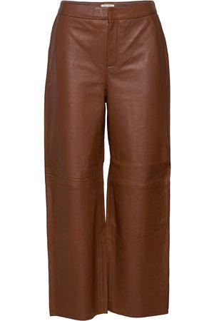 Part Two Elahpw Pa Leather Leggings/Bukser
