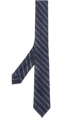 Thom Browne Klassisk slips med kalkstriber