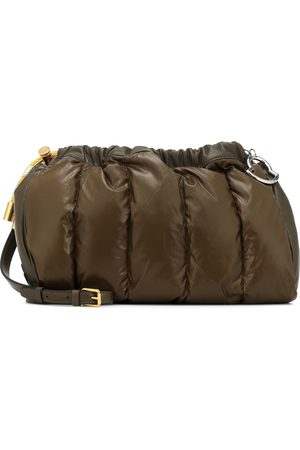 Moncler Seashell down clutch
