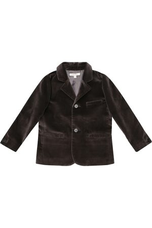 Caramel Piger Blazere - Magpie velvet blazer