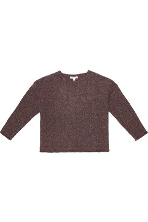 Caramel Piger Strik - Warbler wool-blend sweater