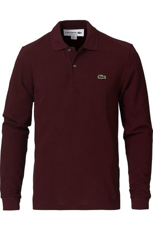 Lacoste Mænd Poloer - Long Sleeve Polo Vine Chine