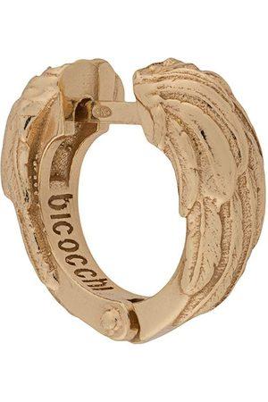 EMANUELE BICOCCHI Tekstureret hoop-ørering med vinge