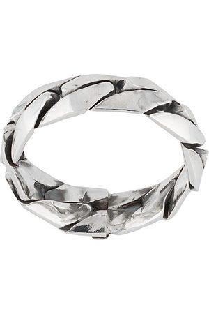 EMANUELE BICOCCHI Ring med logo-indgravering