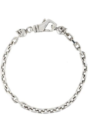EMANUELE BICOCCHI Kæde-halskæde med dødningehoved-vedhæng