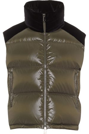 Moncler Kvinder Veste - Exclusive to Mytheresa - Segal velvet and down gilet