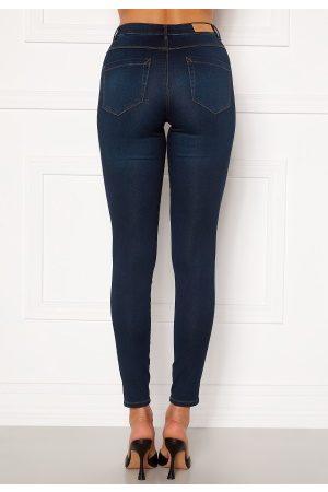 Only Royal Life HW Jeans Dark Blue Denim XL/32