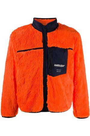 AMBUSH Fleecejakker - Logo-print fleece jacket
