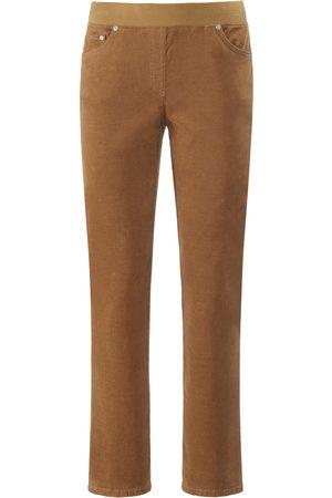 Brax Bekvem Comfort Plus-buks i fin fløjl model Carina Fra Raphaela by orange