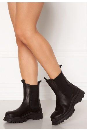 Selected Kvinder Støvler - Lucy Leather Chelsea Boot Black 36