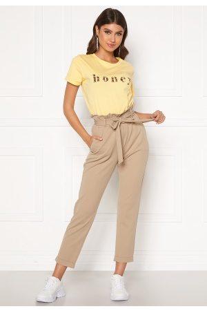 BUBBLEROOM Kvinder Habitbukser - Bonita soft paperbag pant XL