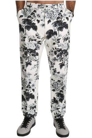 Dolce & Gabbana Floral Slim Casual Trousers