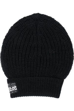 RAF SIMONS Ribbed-knit beanie