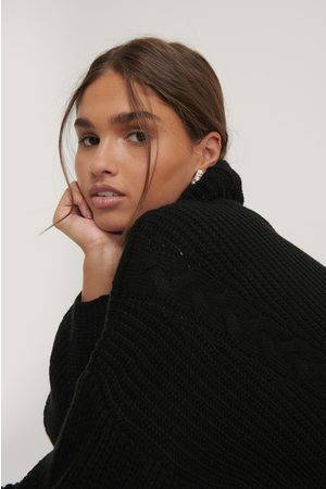 NA-KD Cable Detail Oversized Knitted Sweater