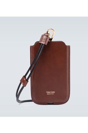 Tom Ford Mænd Mobil Covers - IPhone case with neck strap