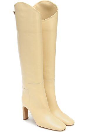 Jil Sander Kvinder Lange støvler - Knee-high leather boots