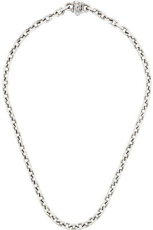 EMANUELE BICOCCHI Kæde-halskæde med dødningehoved