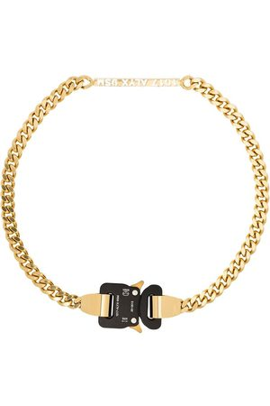 1017 ALYX 9SM Gold tone Buckle chain necklace