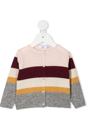 KNOT Cardigan med colourblocking