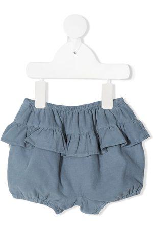 KNOT Haruka bloomer-shorts med flæser