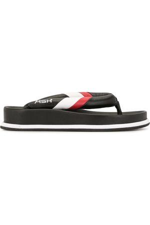 Ash Kvinder Klipklapper - Stripe trim flip flops