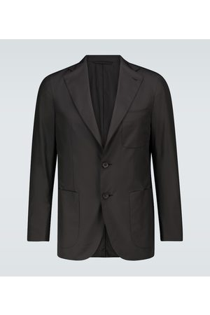 CARUSO Ponza technical travel blazer